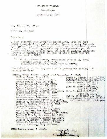 Postmaster List