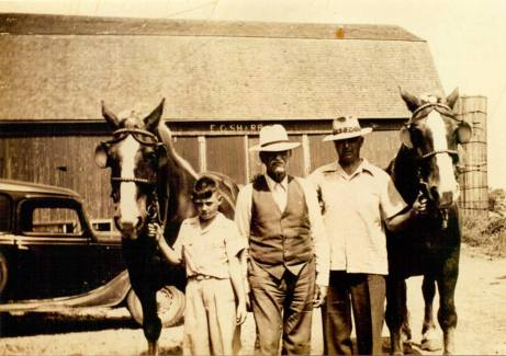 sharp-dairy-farm-about-1940-with-e-c-sharp-william-sharp-and-william-sharp-jr-about-30-holsteins-and-80-acres-of-land-where-the-lansing-mall-is-now